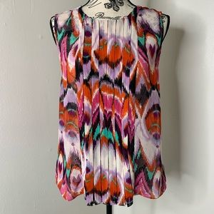 W118 by Walter Baker | Pink Abstract Blouse SZ S